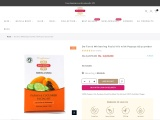De-Tan & Whitening Facial Kit with Papaya & Cucumber – Inveda