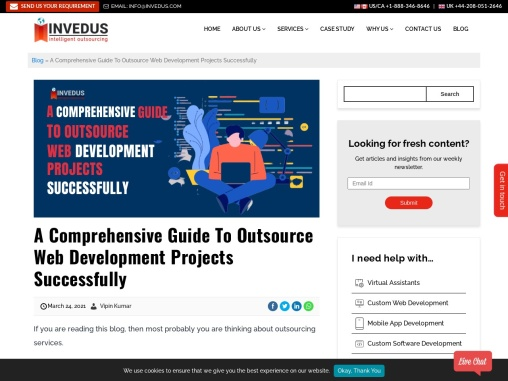 A Comprehensive Guide To Outsource Web Development Projects Successfully