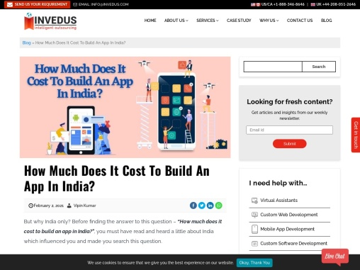 How Much Does It Cost to Build an App in India?