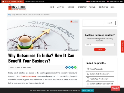 Why Outsource to India? How It Can Benefit Your Business?