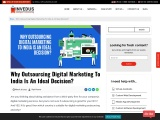 Why Outsourcing Digital Marketing To India Is An Ideal Decision?