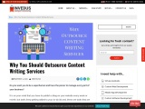 Why You Should Outsource Content Writing Services?