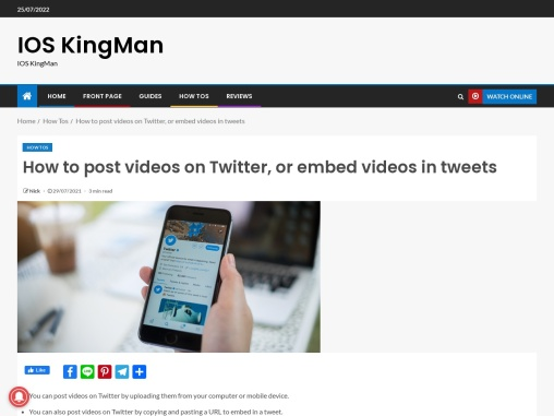 How to post videos on Twitter, or embed videos in tweets
