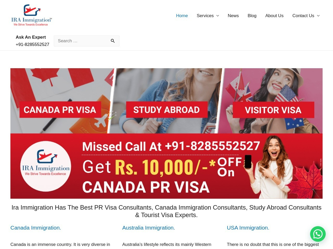 Which countries accept pte for immigration?