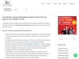 Canada Immigration Requirements before you apply for the Canada PR visa