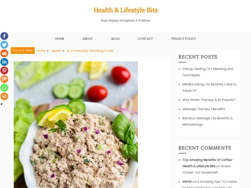 A-Z Immunity-Boosting Foods to Boost Immunity