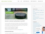 Learn how to reset Roomba device
