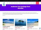 Andaman tour package from Mumbai