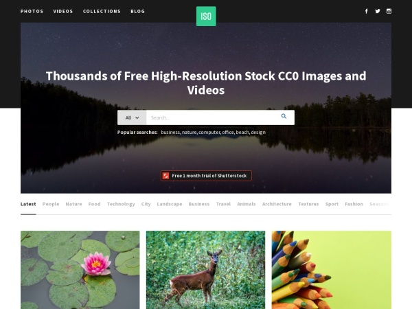 ISO Republic  - 15 Free Website for Quality Free Copyright Images 2020