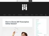 How to Choose Z87 Prescription Safety Glasses?