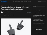 Flare Audio Calmer Review by Its Gadget