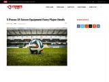 5 Pieces Of Soccer Equipment Every Player Needs