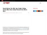 Deonte Burton: Age, Career, Height, Stats, Agent & Net Worth
