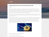 Important Information That You want to Know About Bit Coin Cash