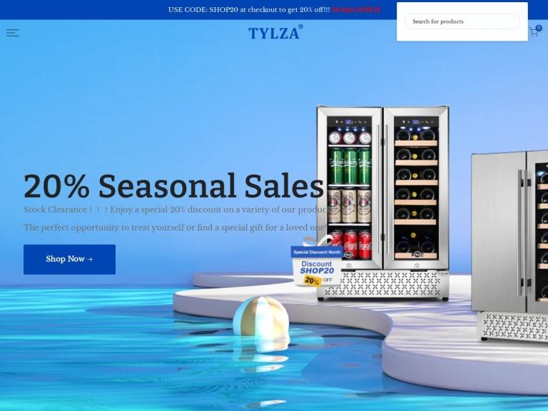 Tylza screenshot