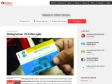 Driving Licence Online | Itzeazy