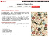 Apply for Passport online in Chennai