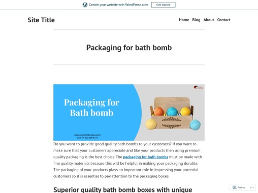 Bath bomb packaging With free Shipping in Texas, USA