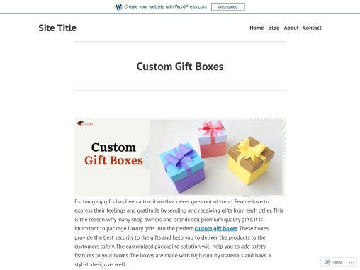 Custom gift boxes Available in All Sizes & Shapes in USA