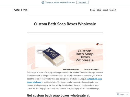Custom Bath Soap Boxes Wholesale quality printing designs in USA