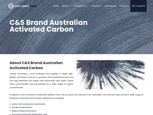 C&S Brand Australian Activated Carbon
