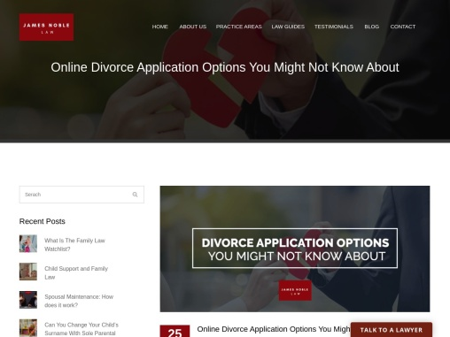 Online Divorce Application Options You Might Not Know About