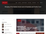 Merging of the federal circuit court of Australia and Family Court