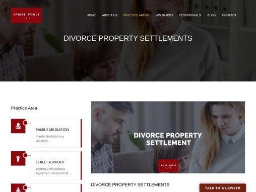What is Property Settlement in Family Divorce Matters?