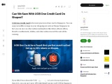 Can We Save With UOB One Credit Card On Shopee?
