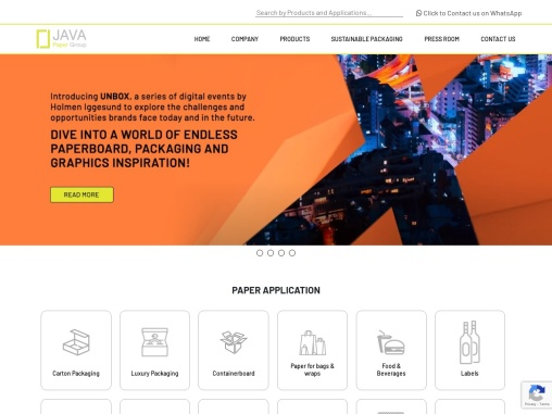 ITC paperboard dealers – Java Paper