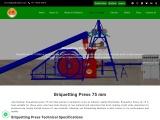 Biomass Briquetting Press Manufacturers & Suppliers