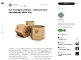 Eco-Friendly Kraft Boxes – A Brand That Is Earth Friendly All the Way