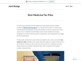 Piles Medicine – Home Remedies For Piles