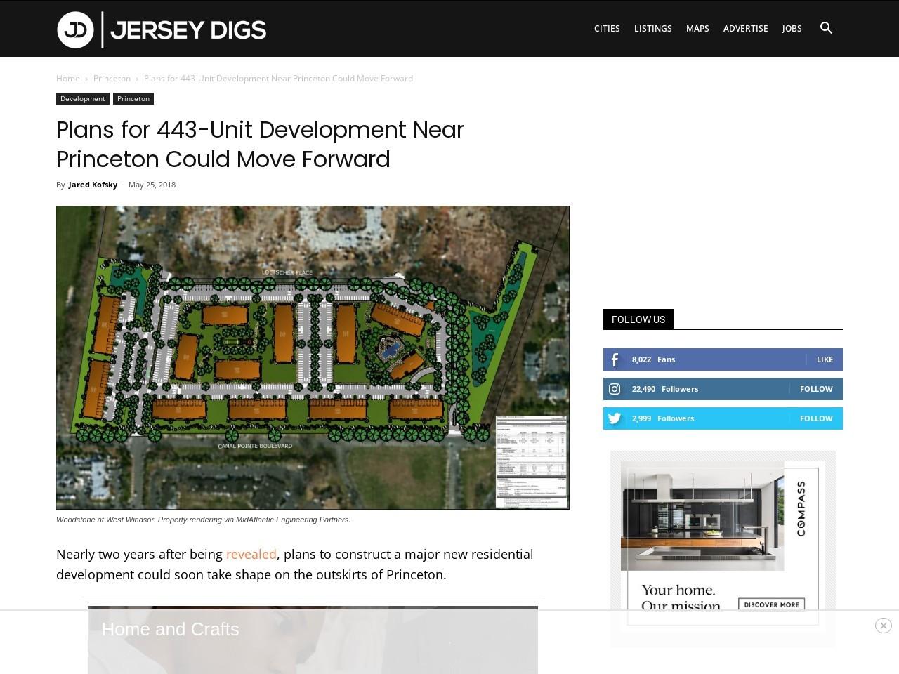 Plans for 443-Unit Development Near Princeton Could Move Forward