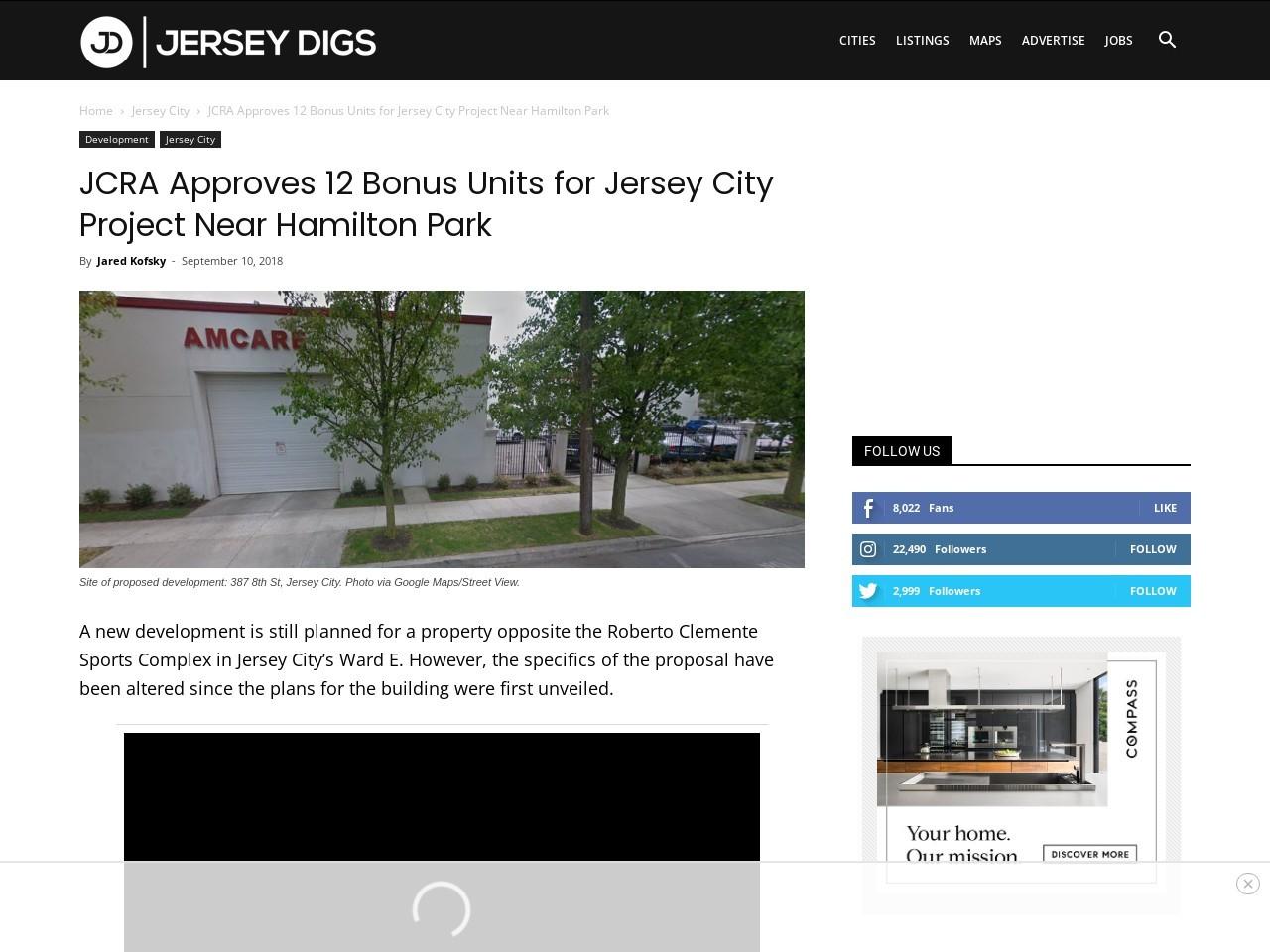 JCRA Approves 12 Bonus Units for Jersey City Project Near Hamilton Park