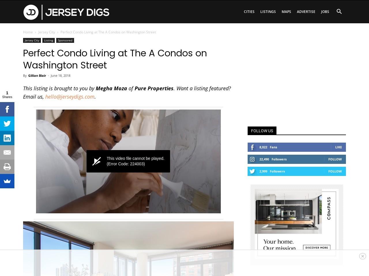 Perfect Condo Living at The A Condos on Washington Street