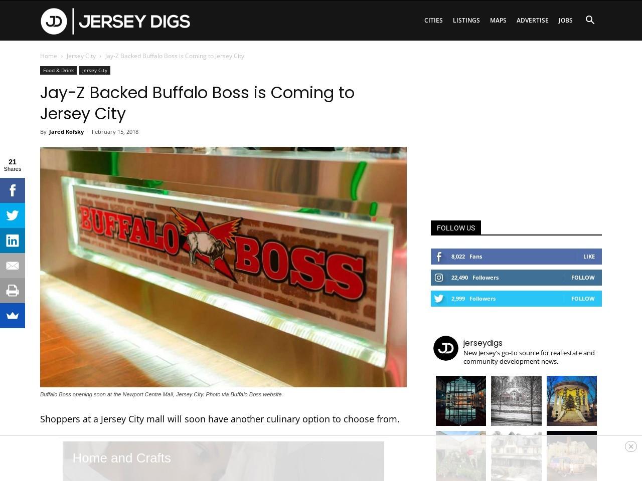 Jay-Z Backed Buffalo Boss is Coming to Jersey City