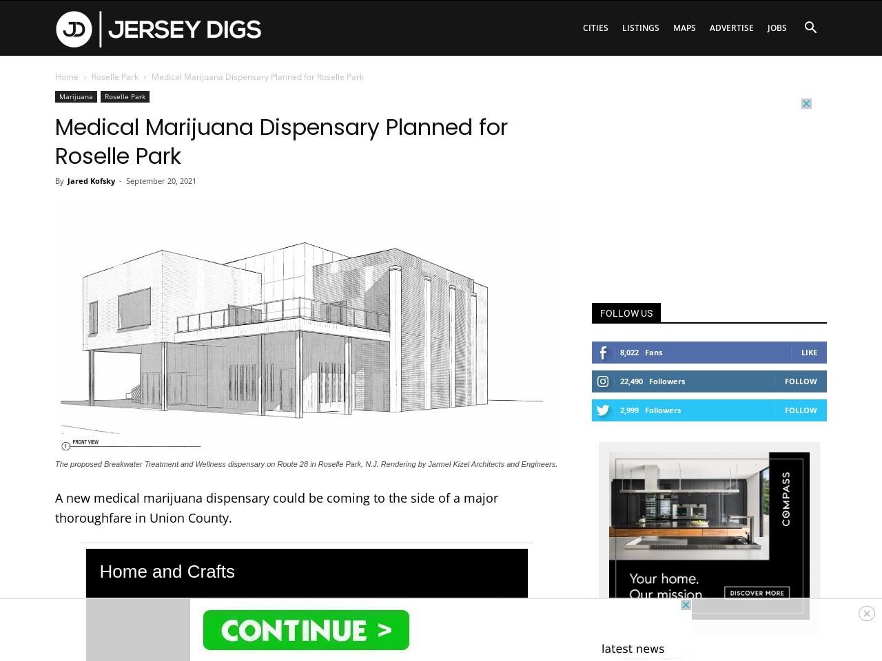 Medical Marijuana Dispensary Planned for Roselle Park