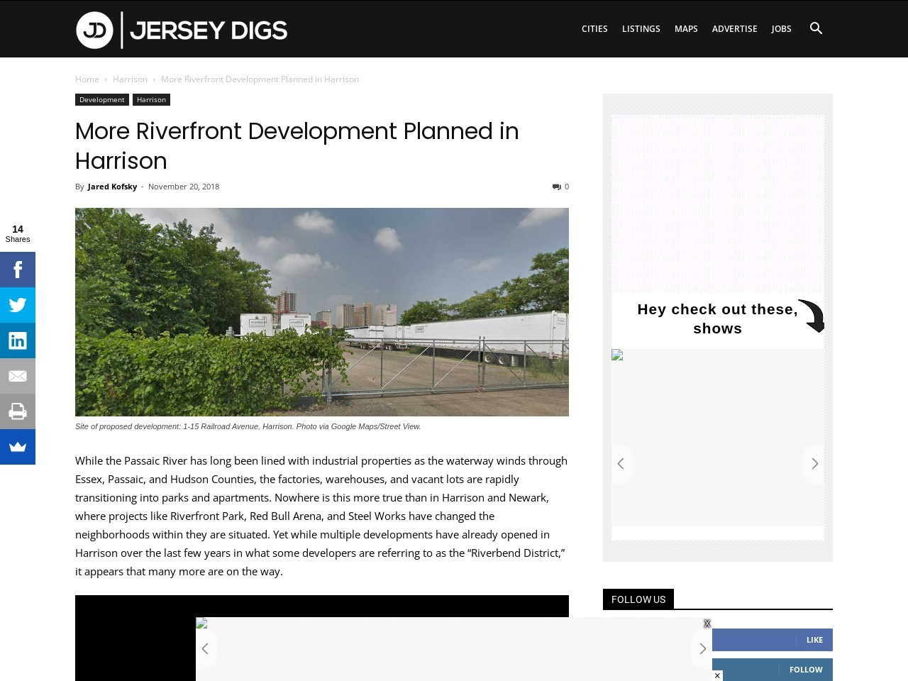 More Riverfront Development Planned in Harrison