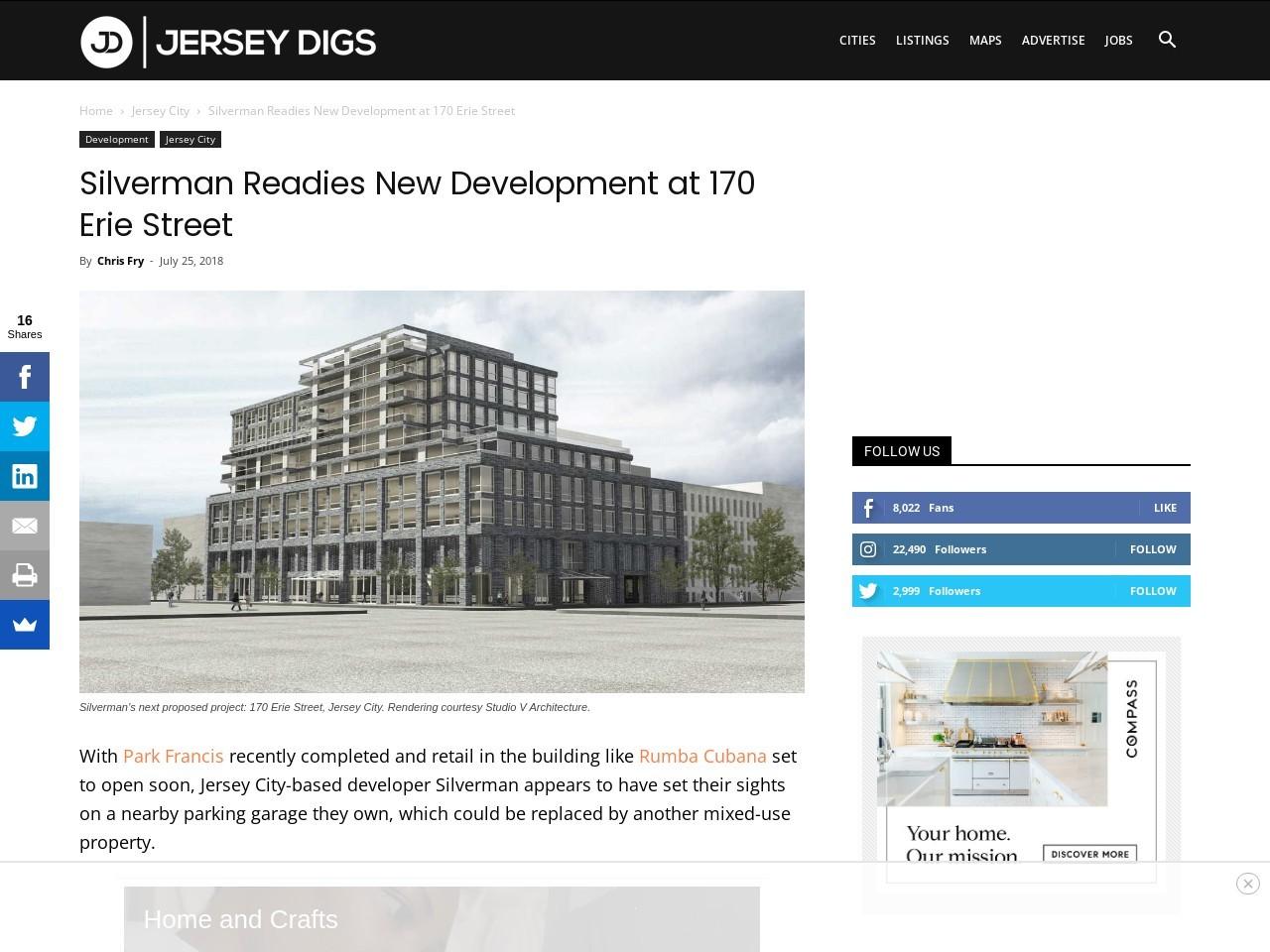 Silverman Readies New Development at 170 Erie Street