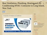 Components Of Window Air Conditioner