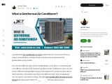 What is Geothermal Air Conditioner?