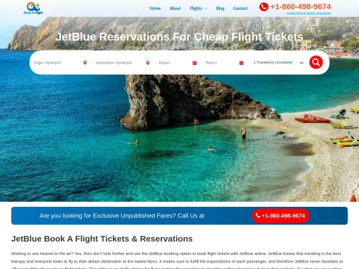 Get JetBlue Book A Flight Deals With Us Instantly!