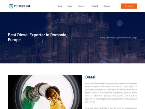 Best Diesel Exporter in Romania, Europe