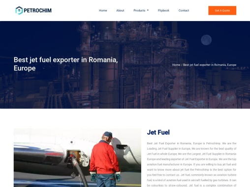 Best Jet Fuel Exporter in Romania, Europe