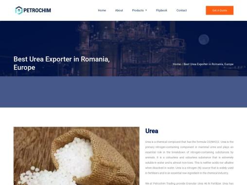 Best Urea Exporter in Romania, Europe