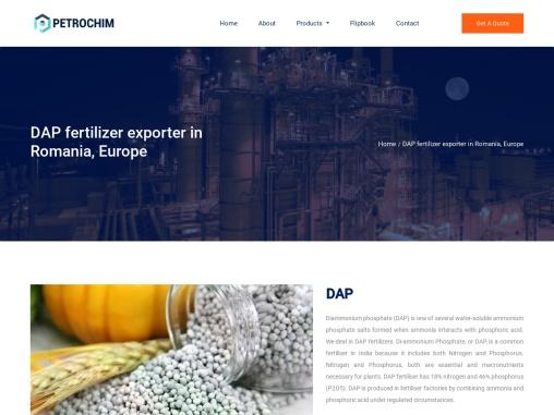 DAP Fertilizer Exporter in Romania, Europe