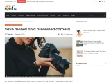Save money on a preowned camera