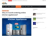 Why is it worth ordering online kitchen appliances?