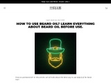 HOW TO USE BEARD OIL? LEARN EVERYTHING ABOUT BEARD OIL BEFORE USE.